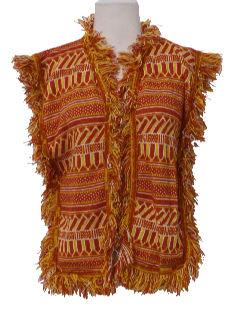 1960's Womens Hippie Vest