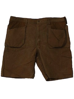1980's Mens Industrial Work Shorts