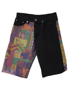 1980's Unisex Totally 80s Shorts