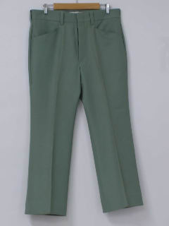 1970's Mens Polyester Bellbottom Leisure Pants