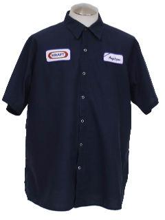 1990's Unisex Grunge Work Shirt