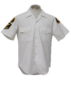 1980's Mens Naval Work Shirt
