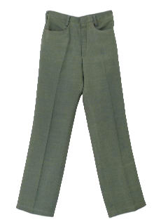 1960's Mens Mod Stove Pipe Pants