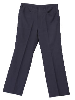 1960's Mens Wool Mod Pants