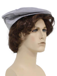 1970's Mens Accessories - Flat Cap Golf Hat