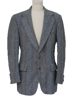 1970's Mens Wool Tweed Jacket