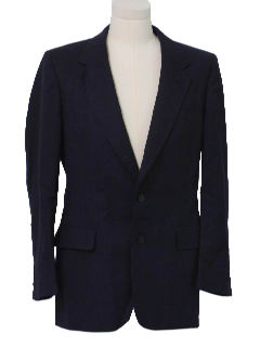 1970's Mens Designer Blazer Sports Jacket