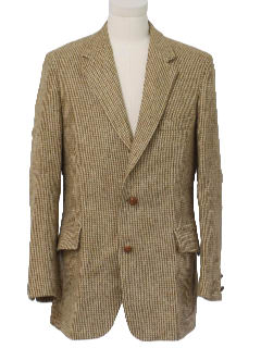 1960's Mens Blazer Sports Jacket