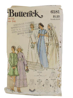 1960's Womens Bridal Pattern