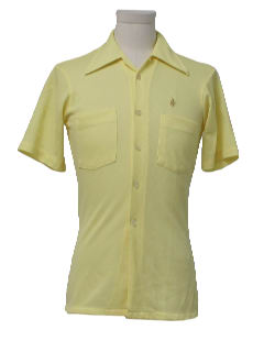 1970's Mens/Boys Mod Sport Shirt
