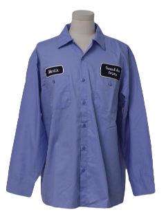 1990's Mens Work Shirt