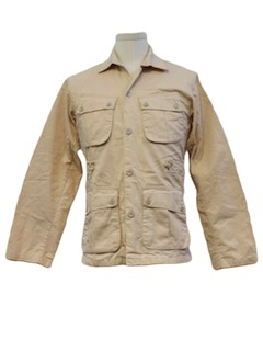 1970's Mens Safari Shirt Jacket