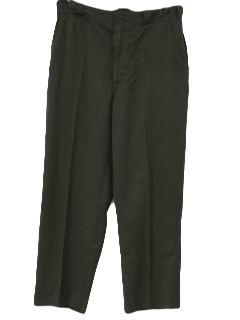 1960's Mens Mod Pants