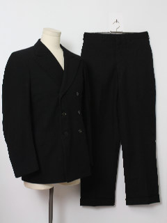 1940's Mens Fab Forties Suit