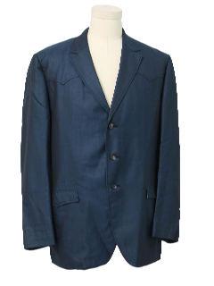 1960's Mens Mod Blazer Sport Jacket