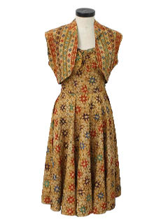 1950's Womens Fab Fifties Sun Dress