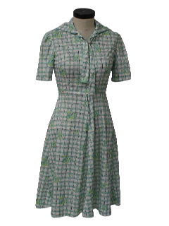 1960's Womens or Girls Knit Dress