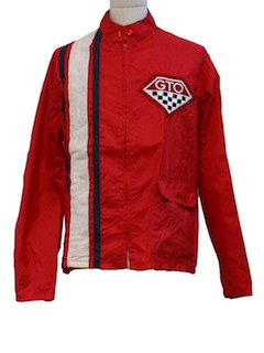 1970's Mens Mod GTO Racing Jacket