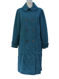 1970's Womens Mod Coat Jacket