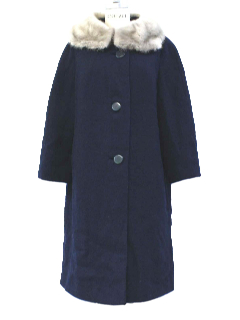 1960's Womens Mod Coat Jacket