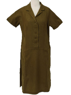 1950's Womens New Look Wool Dress