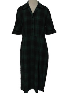 1940's Womens Fab Forties Day Dress