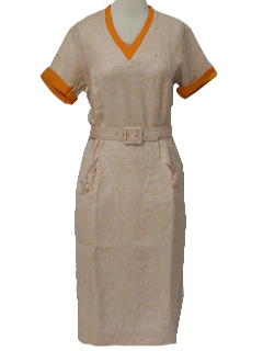 1950's Womens New Look Day Dress