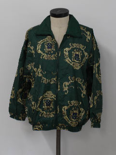 1990's Womens Hip Hop Windbreaker Jacket