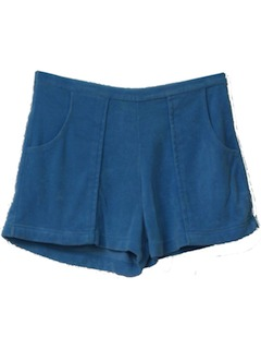 1990's Mens Terry Cloth Short Shorts