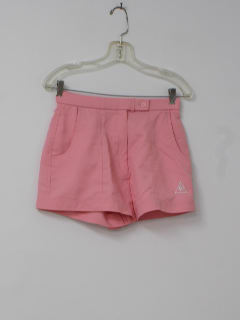 1980's Womens Totally 80s Tennis Shorts