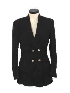 1970's Womens Tailored Blazer Style Jacket