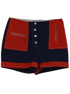 1960's Womens Mod Hotpants Shorts