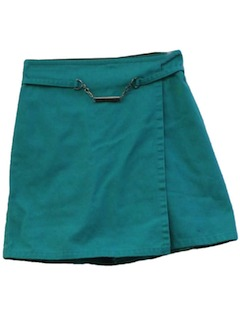 1980's Womens Girl Scout Skort Shorts