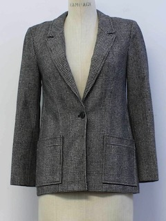 1980's Womens Pendleton Wool Blazer Jacket