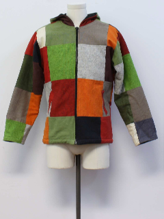 1990's Mens Hippie Style Coat Jacket