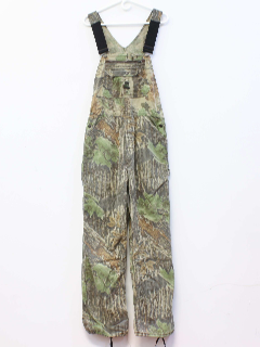 1980's Mens Hunting Overalls