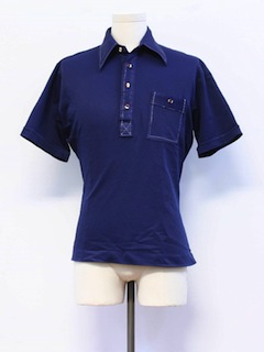 1970's Mens Mod Golf Shirt