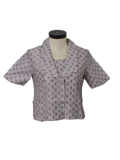 1950's Womens New Look Cocktail Shirt