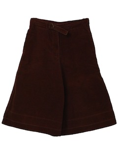 1970's Womens or Girls Gaucho Shorts