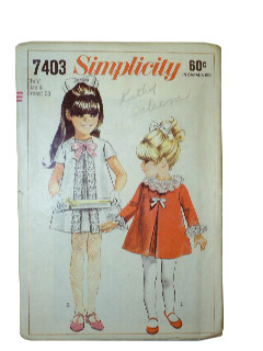 1960's Women/Childs Pattern