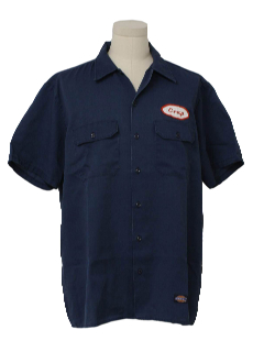 1980's Mens Crap Work Shirt