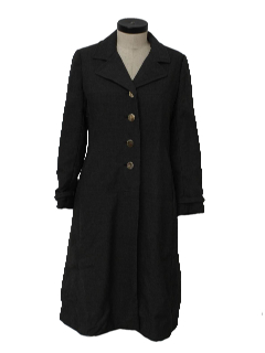 1970's Womens Duster Coat Jacket