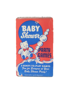 1940's Baby Shower Game Book