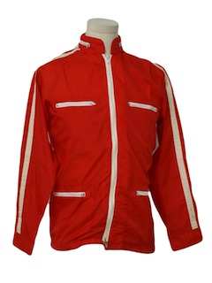 1970's Mens Windbreaker Racing Style Jacket