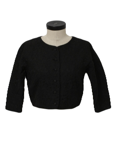1950's Womens Fab Fifties Cocktail Bolero Jacket