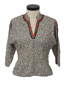 1950's Womens Fab Fifties Shirt