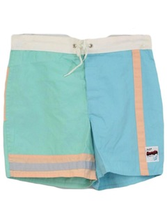 1990's Mens Wicked 90s Board Shorts