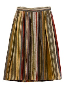 1980's Womens Totally 80s Skirt