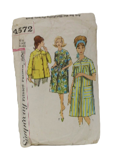 1960's Womens Duster Pattern