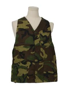 1970's Mens Hunting Vest